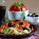 Špagete sa crvenim sosom