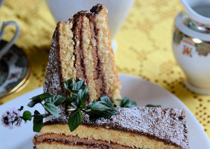 Kokos šnit torta