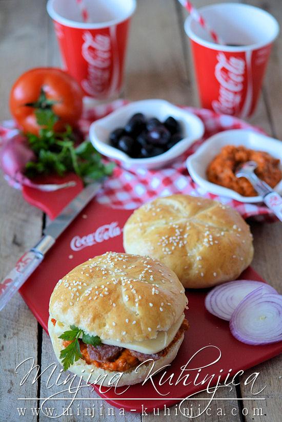 Sendvič-hamburger pogačice