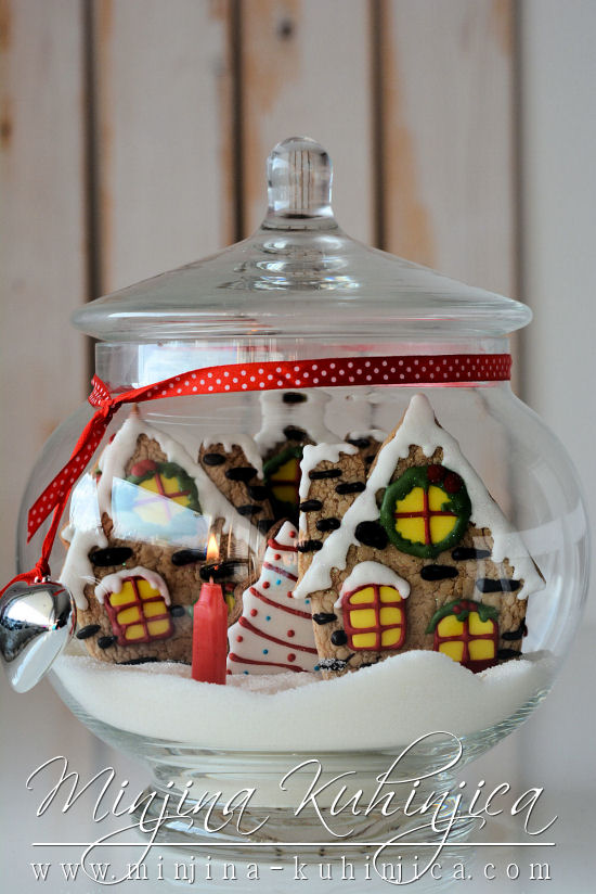 "Keks ""Božićne kućice"""
