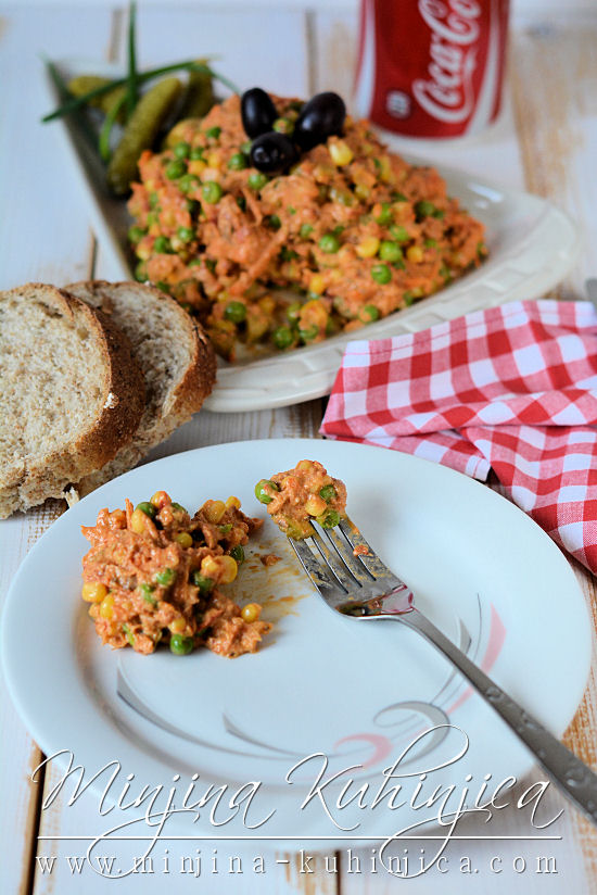 Posna slavska salata
