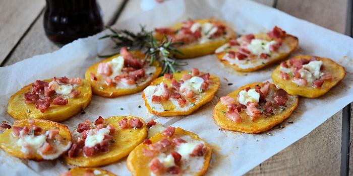 Krompir pločice sa slaninom