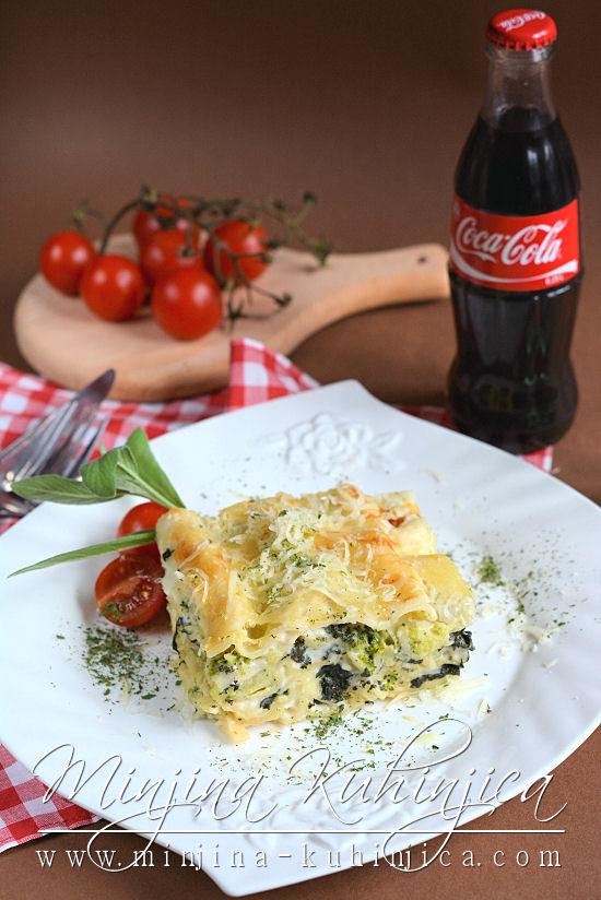Lazanje sa brokolijem