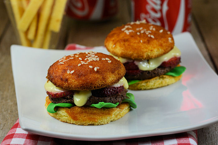 Slatki hamburgeri