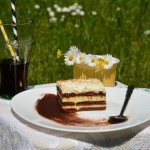 Vanil torta sa kakao keksom
