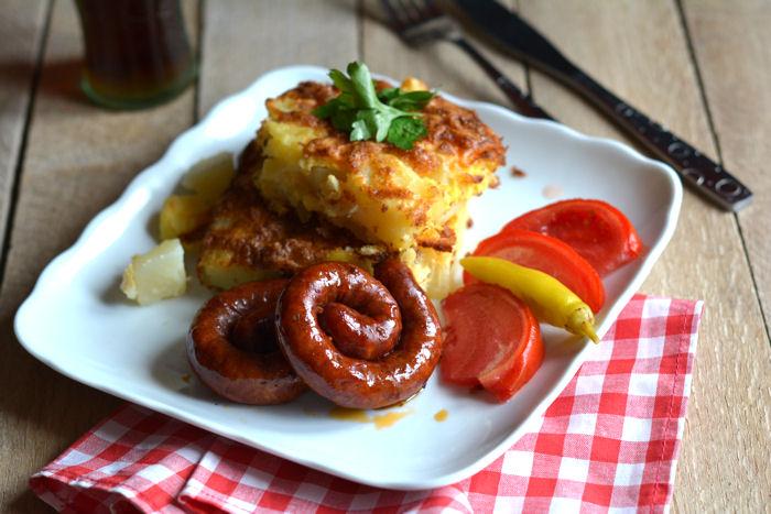 Krompir iz rerne sa krem sirom