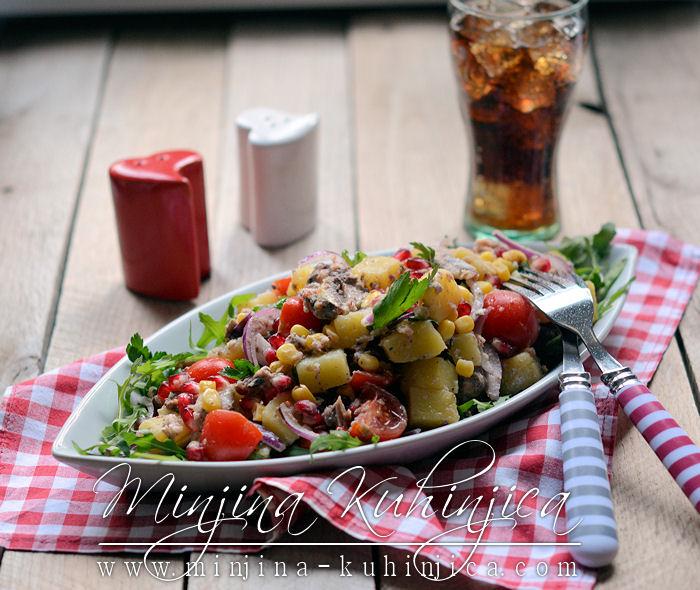Krompir salata sa tunjevinom