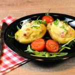 Punjeni pečeni krompir (video)