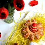 Cvetne korpice za uskršnja  jaja (video)