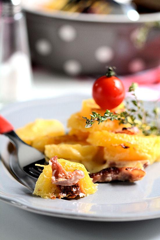 Gratinirani krompir sa slaninom