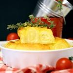 Zapečene rol palačinke sa sirom (video)