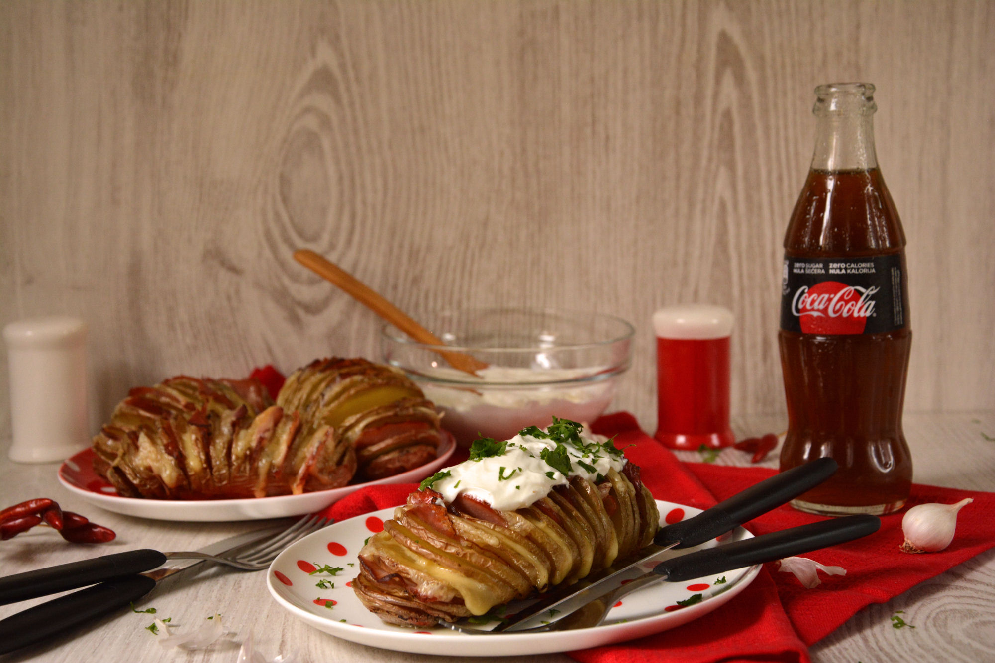 Harmonika / Hasselback krompir (video)