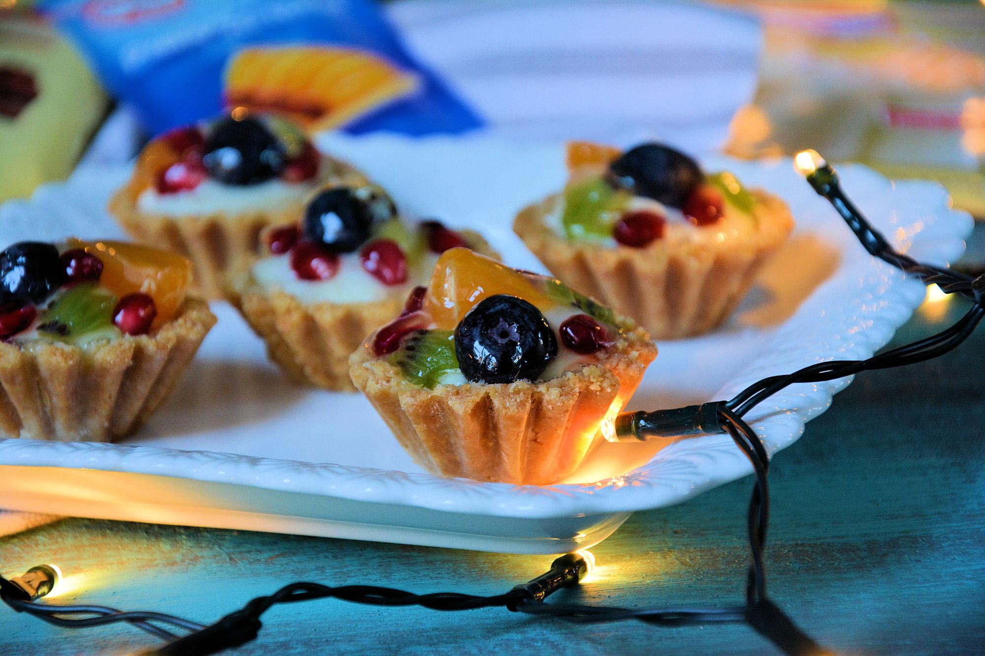 Slatke korpice sa voćem (video)