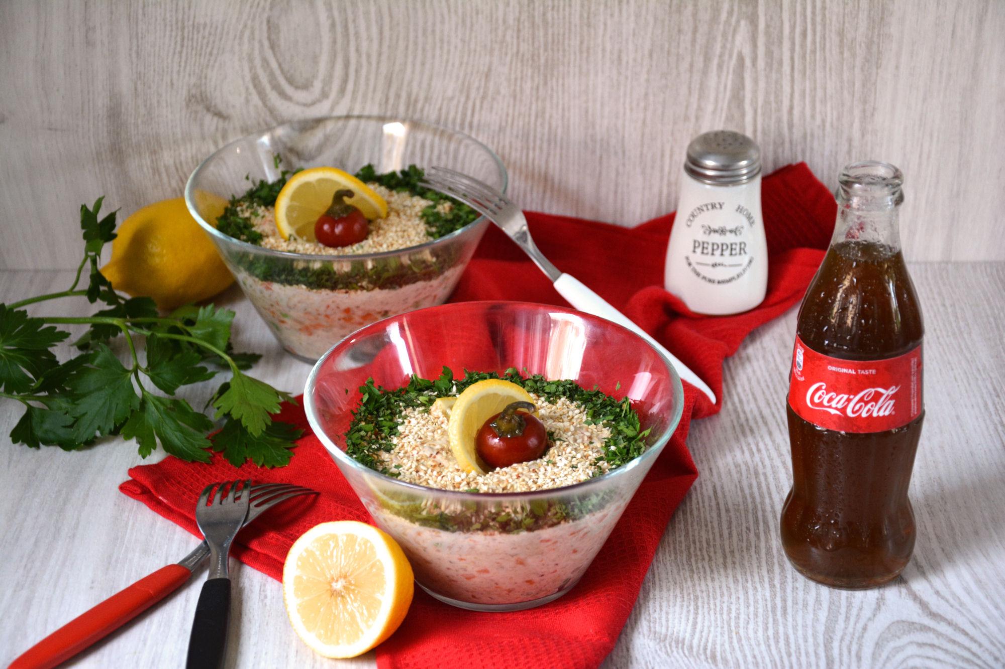 Posna (ruska/susam) salata (video)
