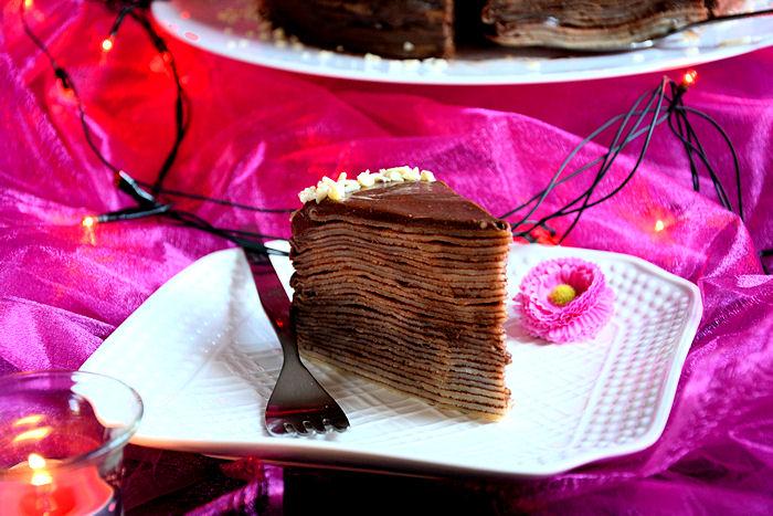 Nugat torta od palačinki