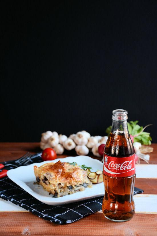 Pita od patlidžana, spanaća i praziluka