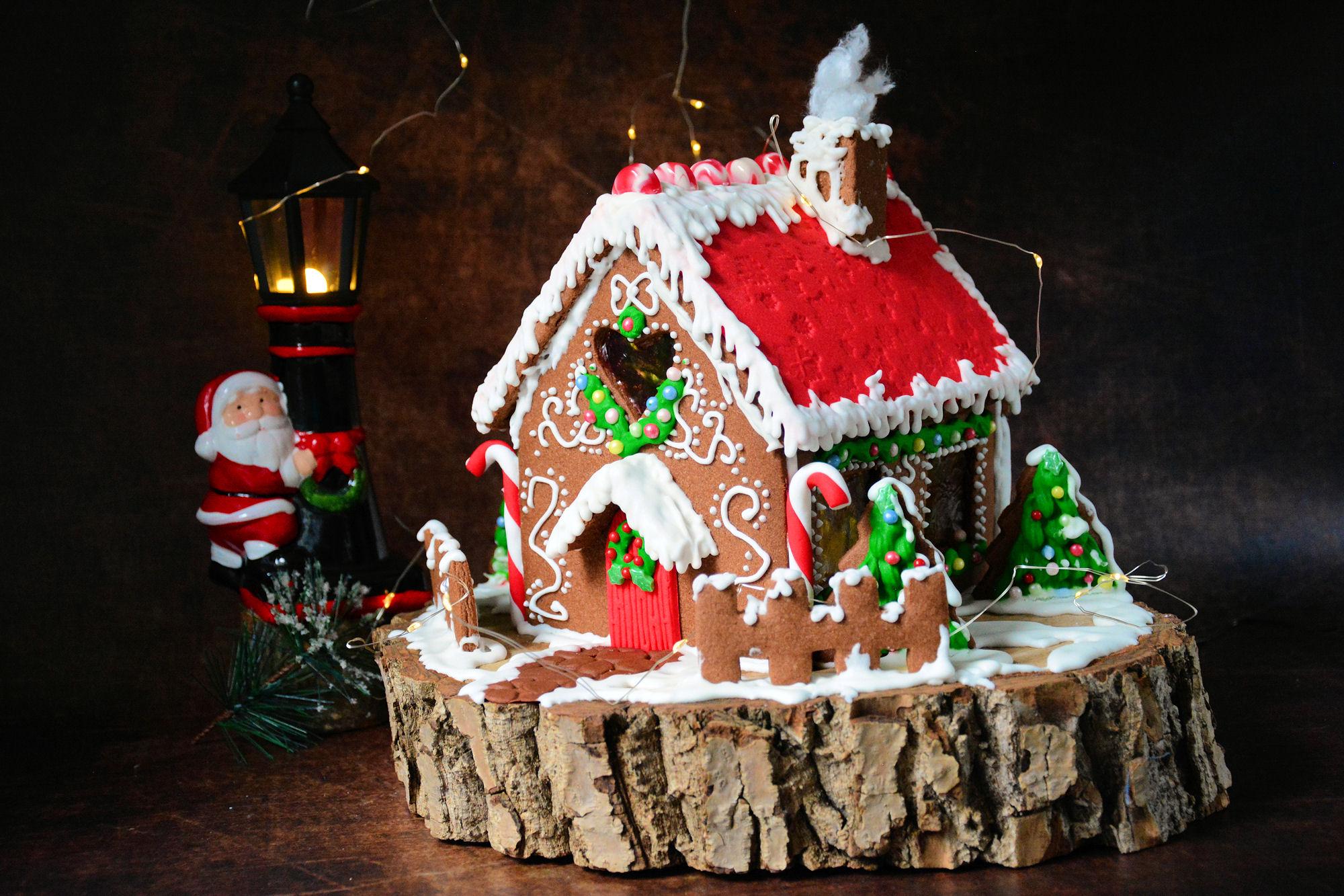Gingerbread house / Kućica od medenjaka / Medena kućica / Božićna kućica (video)