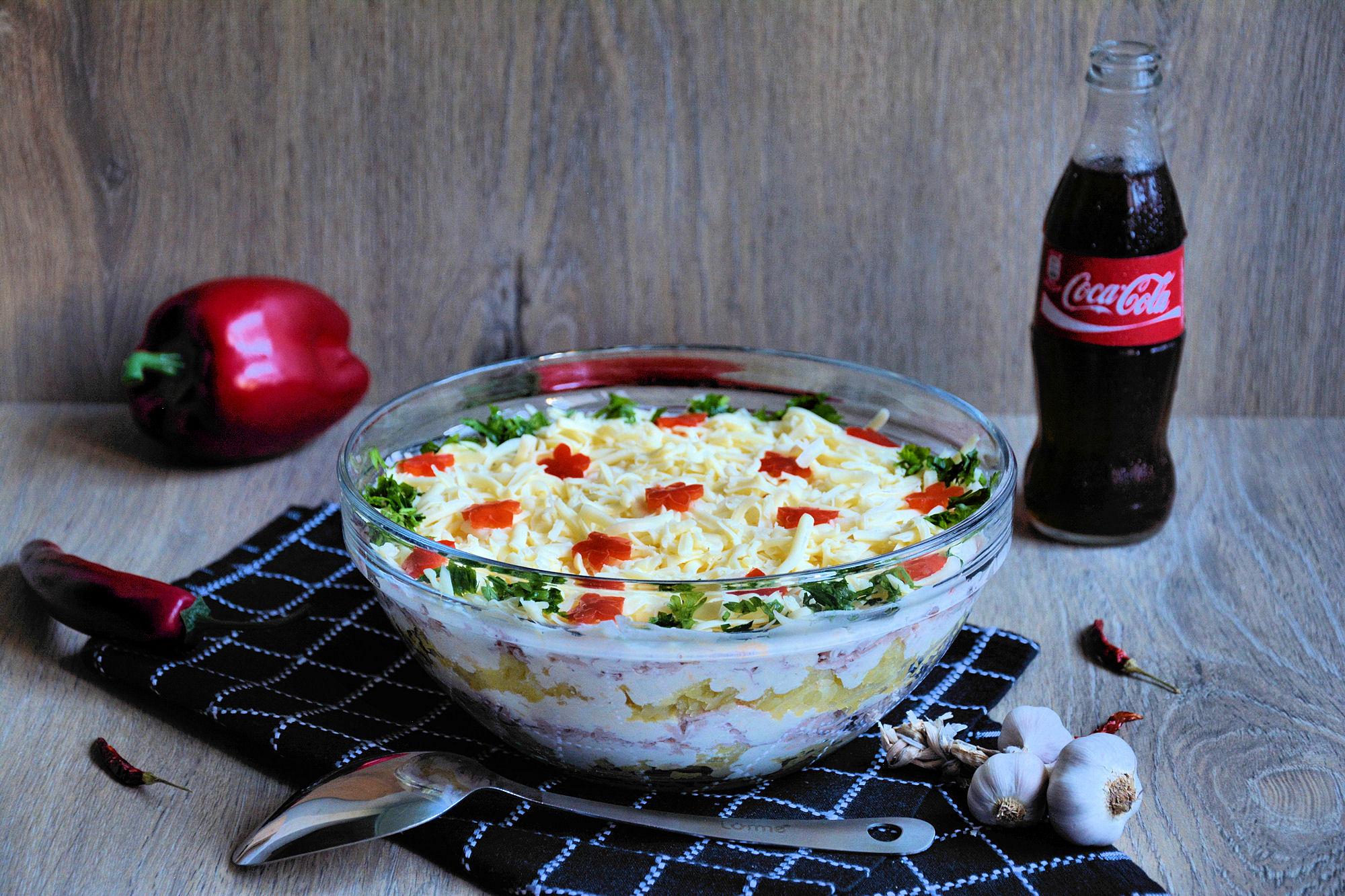 Slojevita salata (video)