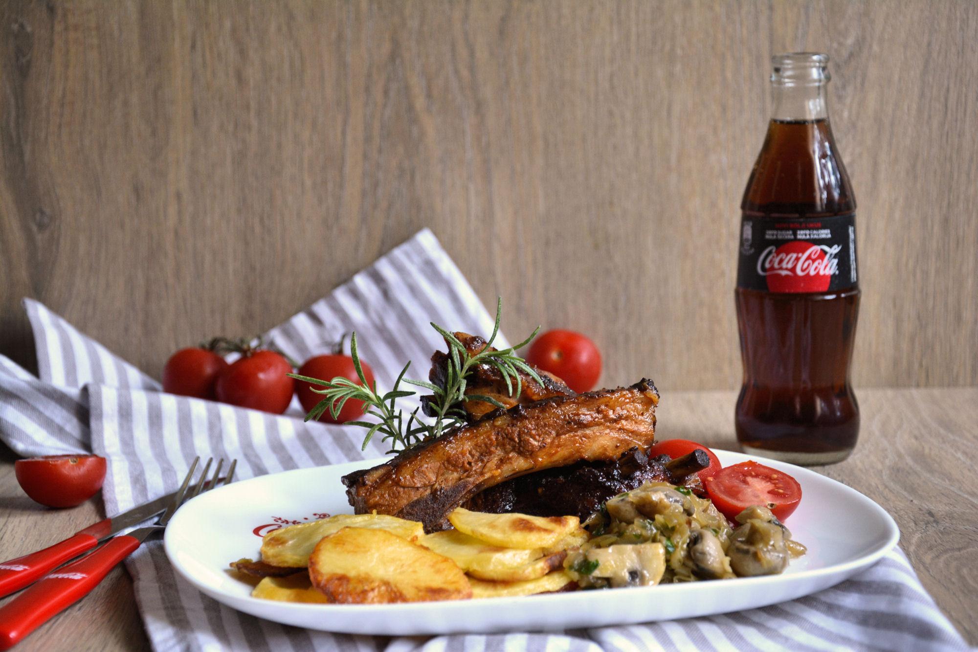 Svinjska rebra sa Coca-Cola glazurom