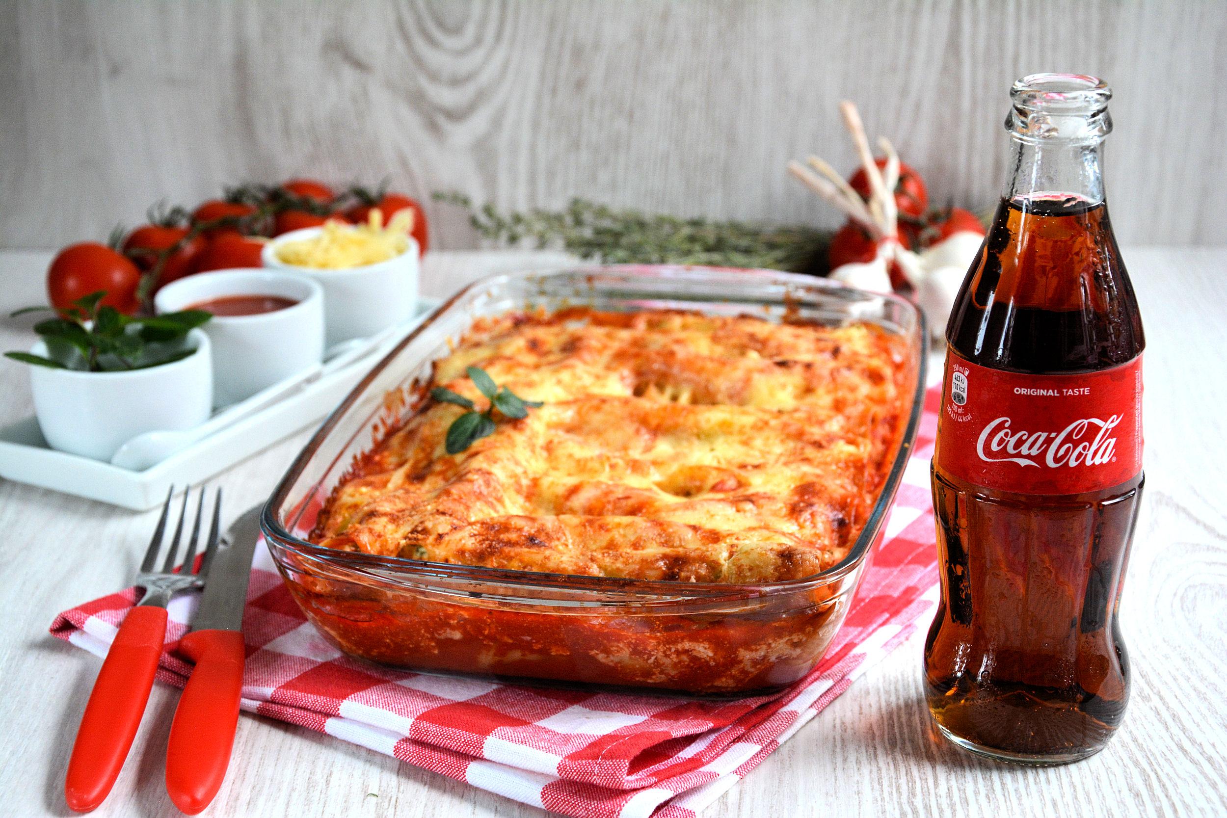 Kaneloni( cannelloni) sa sirom i spanaćem
