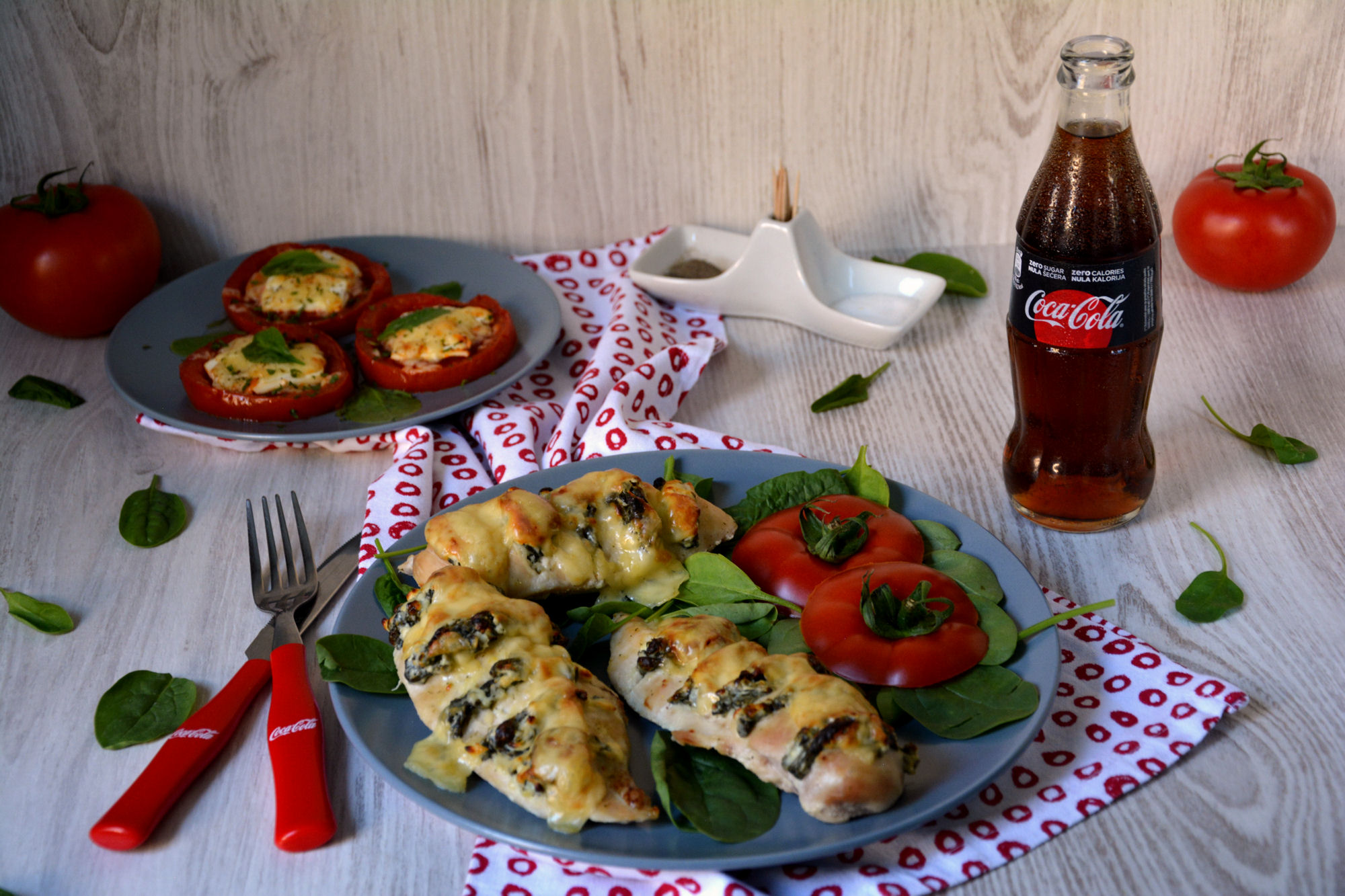 Piletina sa spanaćem i sirom (video)