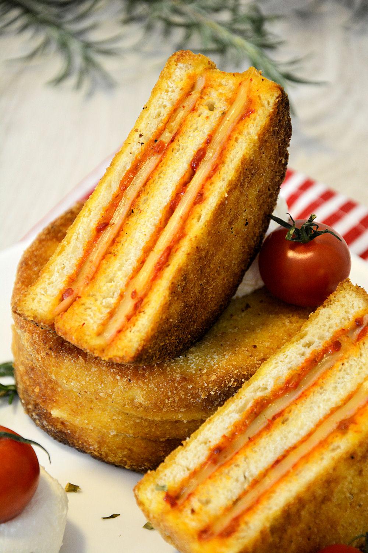 Slojeviti tost sendviči