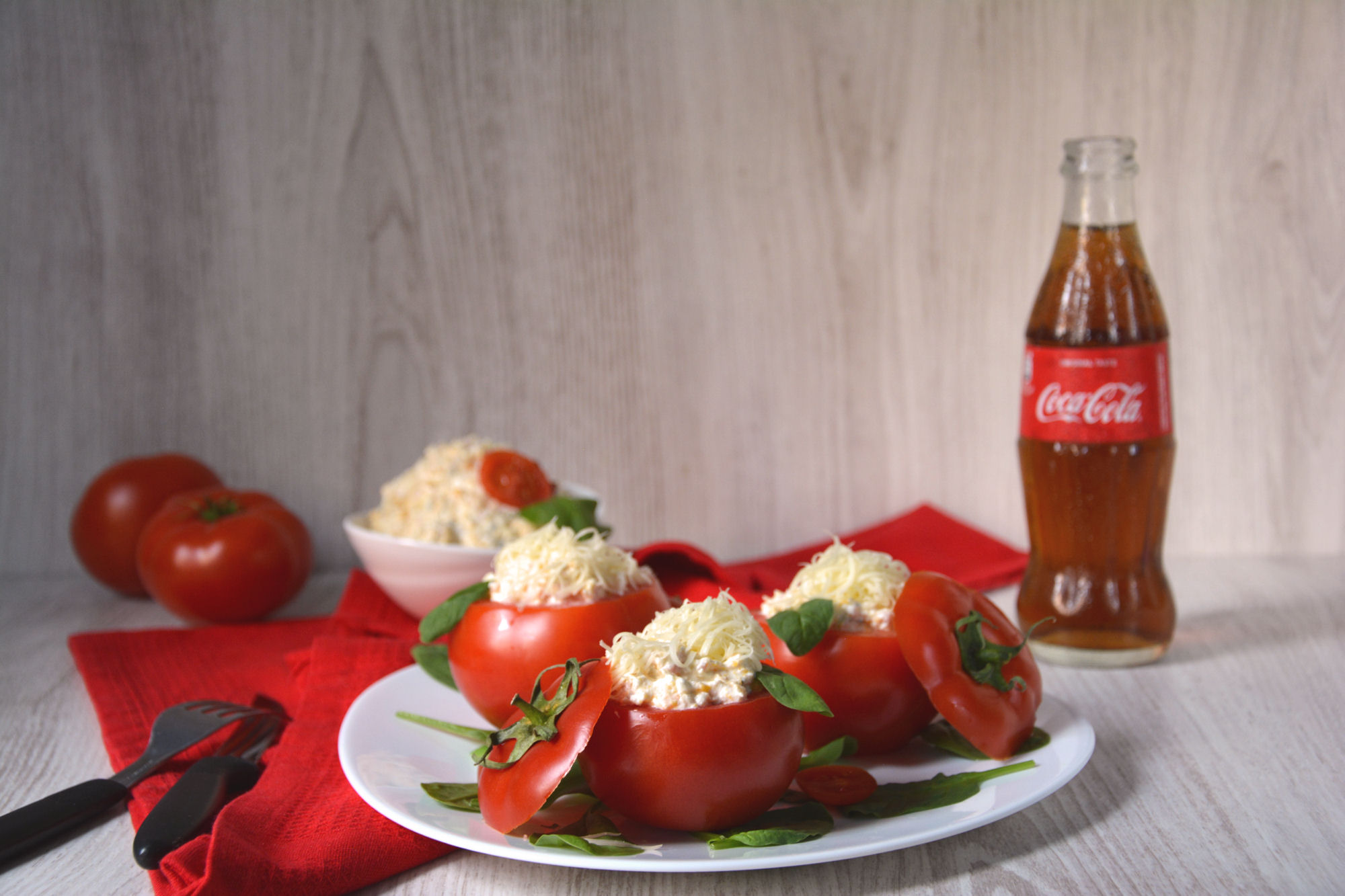Kraljevski punjeni paradajz (video)