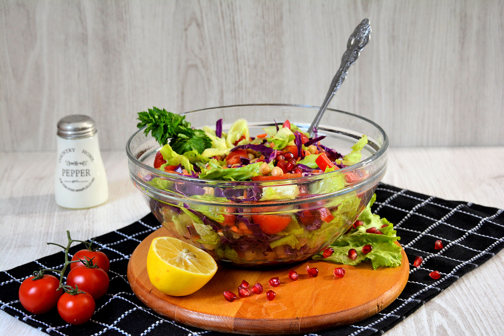 Salata od povrća i leblebije (video)