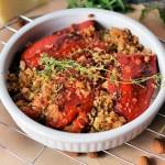 Punjene zapečene (vegetarijanske) paprike na nov način