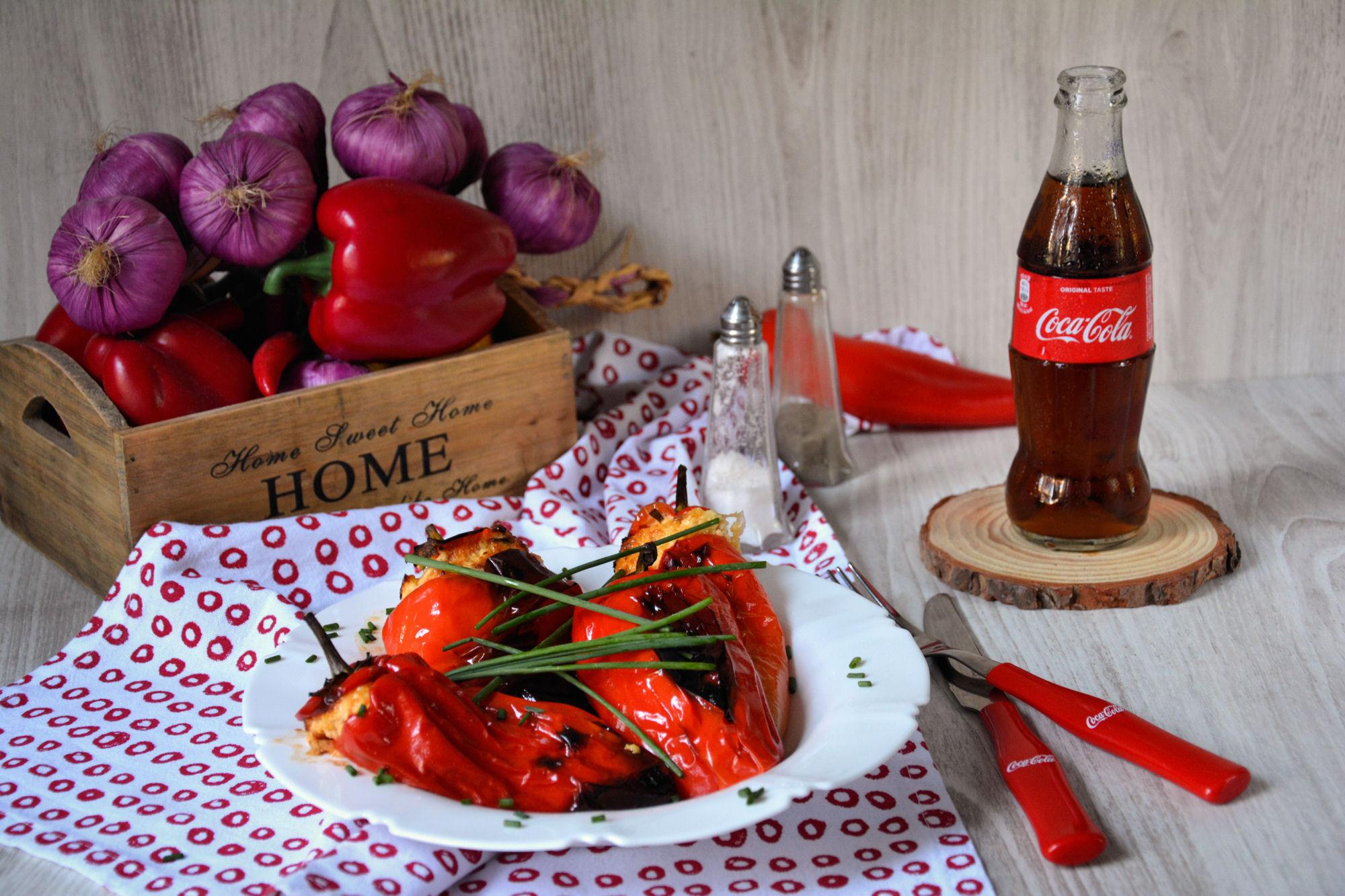 Paprike punjene krem sirom i kulenom (video)
