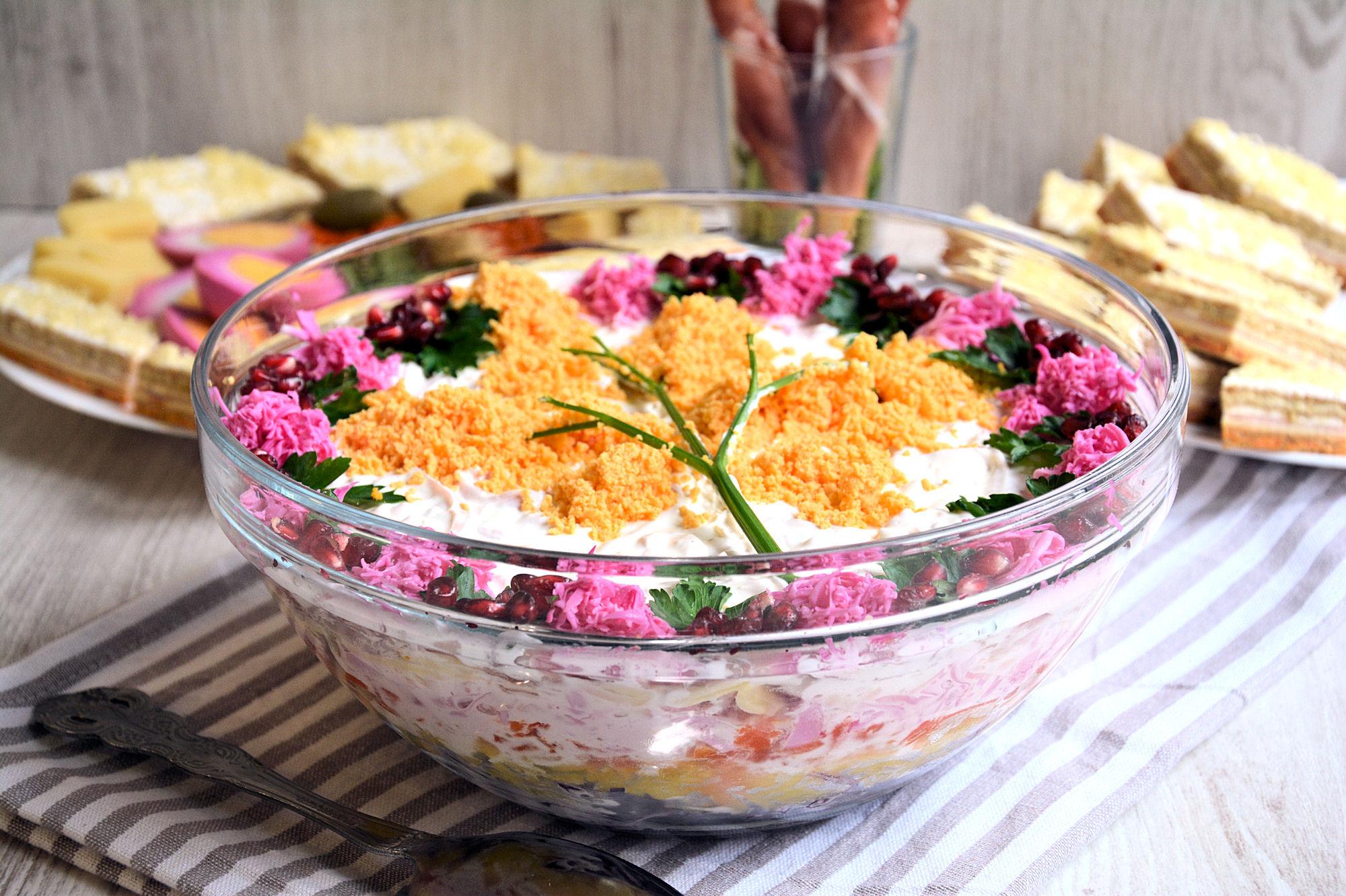 Mimoza salata (video)