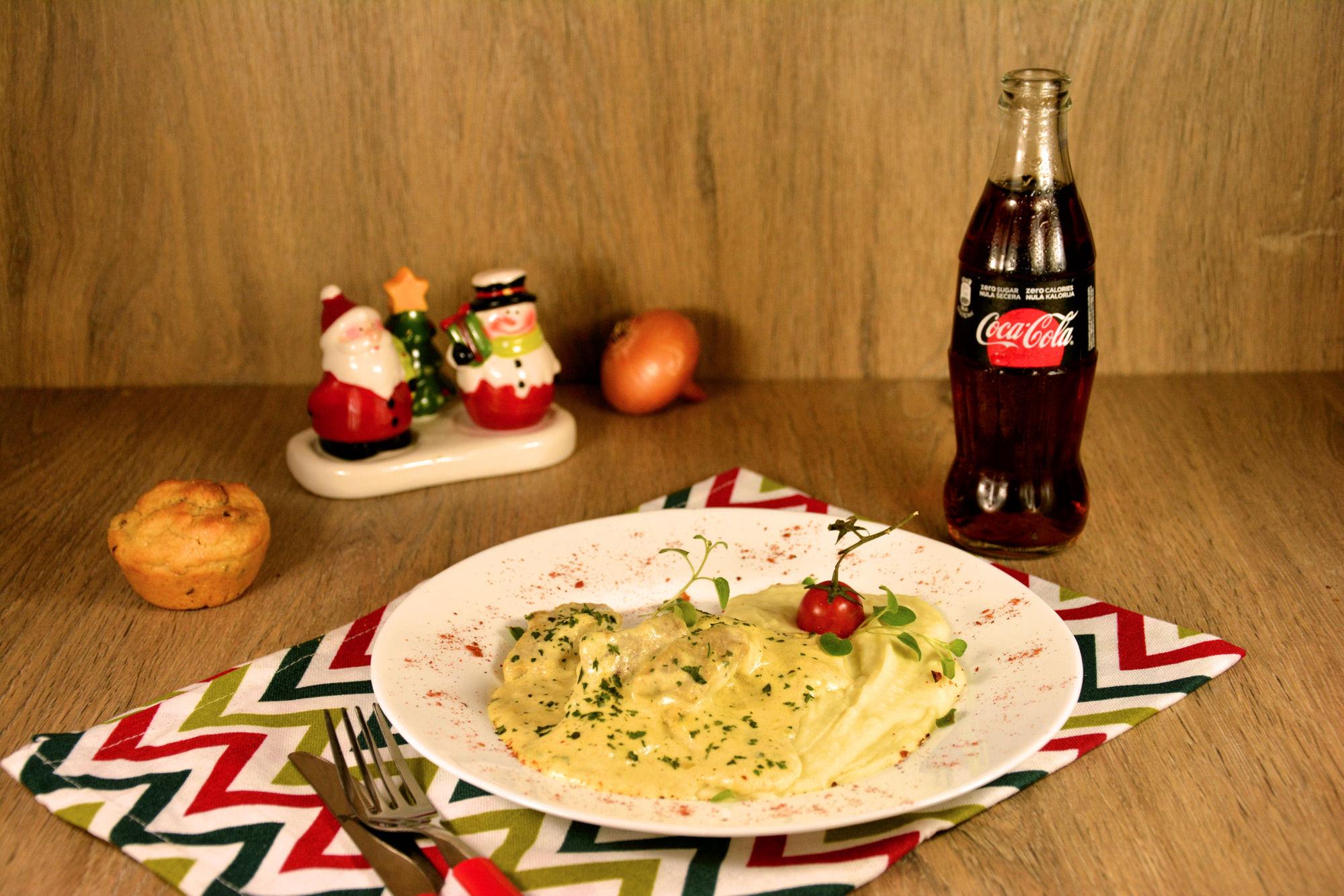 Meso u sosu od pavlake i senfa (video)