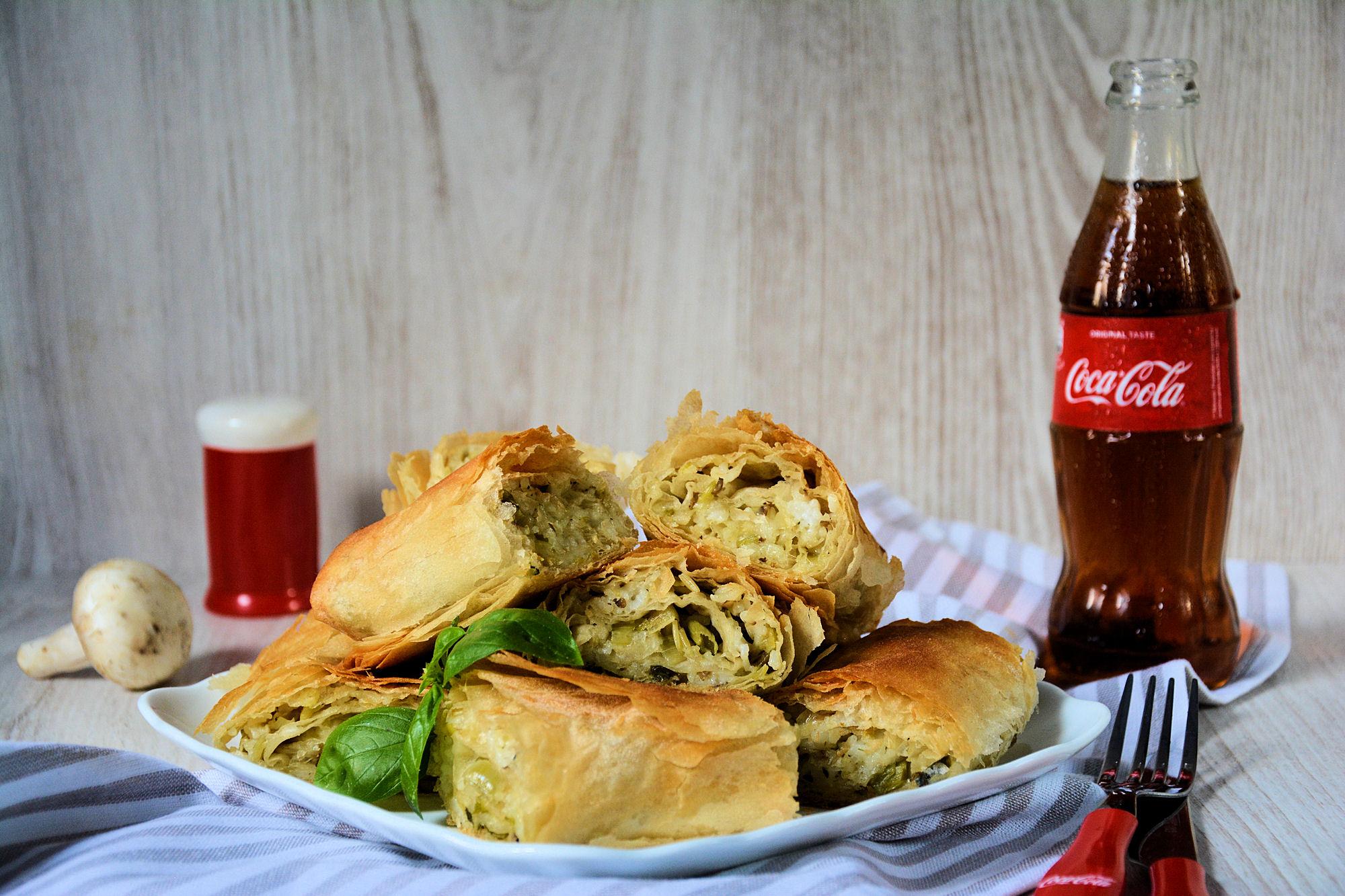 Posna pita sa prazilukom i pirinčem (video)