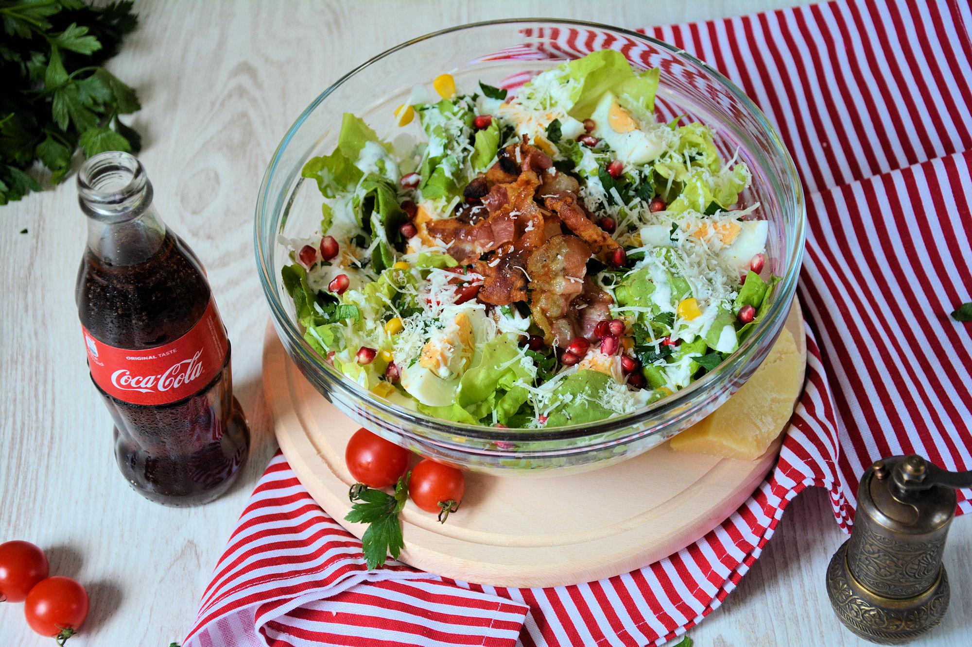 Šarena salata sa grilovanom piletinom  (video)