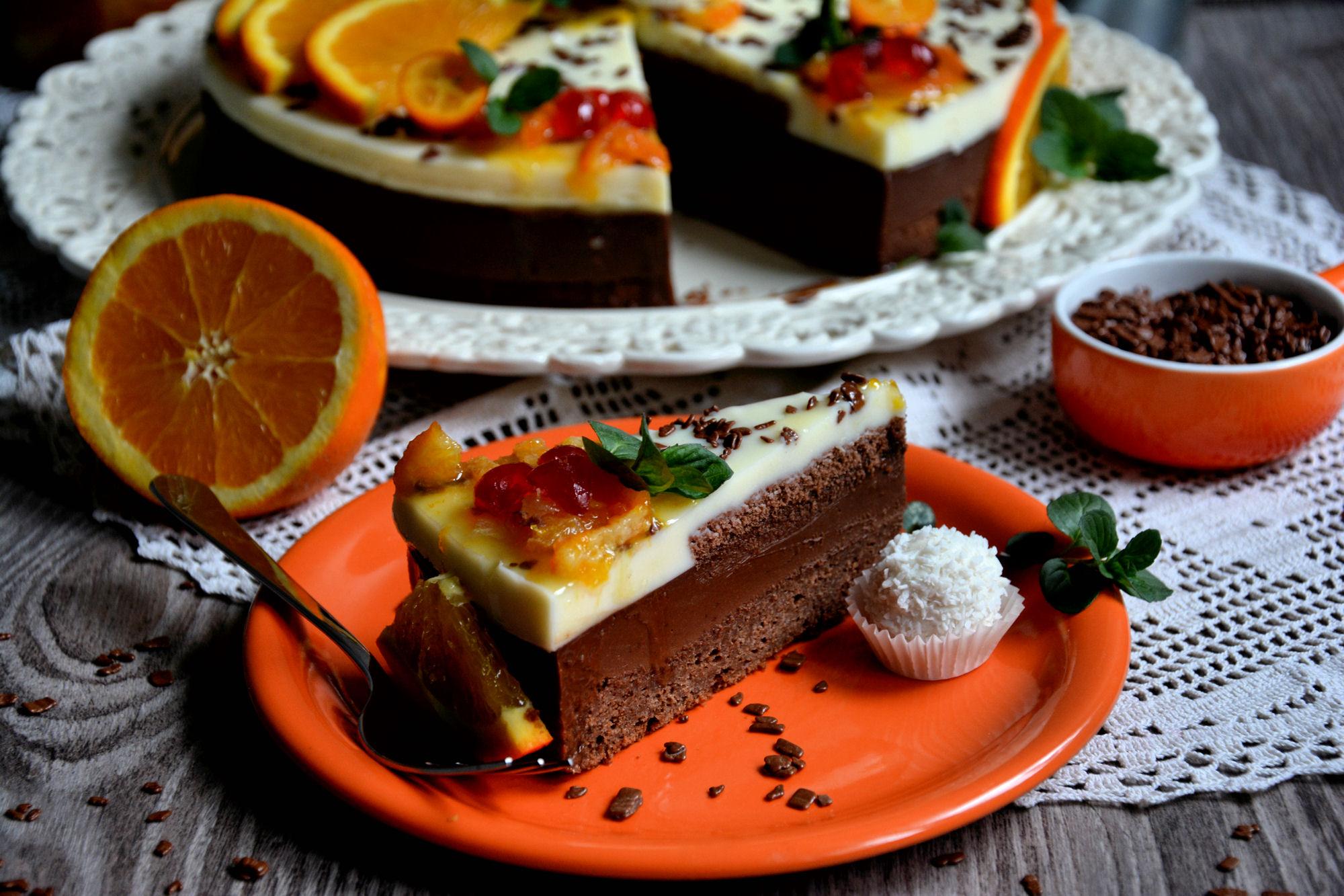 Čokoladna fruti torta (video)
