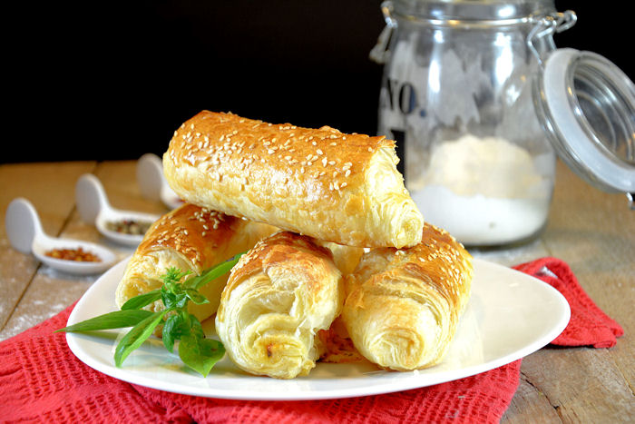 Lisnate pizza rolnice