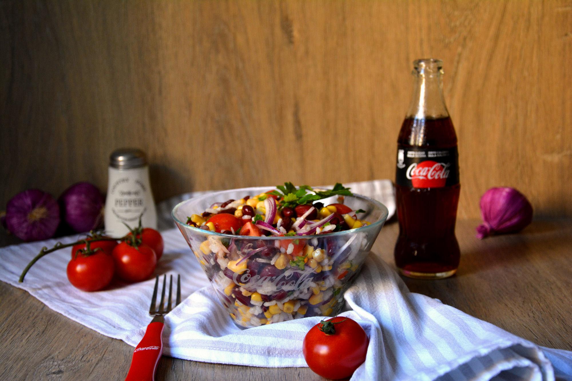 Šarena posna salata (video)