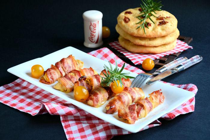 Piletina uvijena slaninom