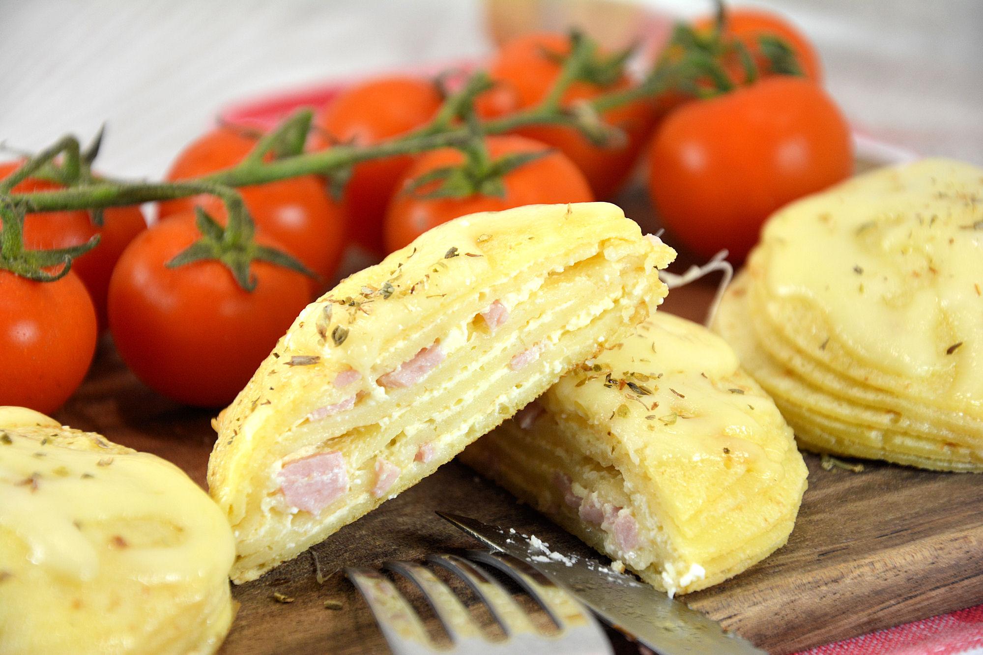 kaneloni recepti šunka sir