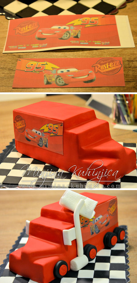 Mack the Truck Birthday Cake Tutorial