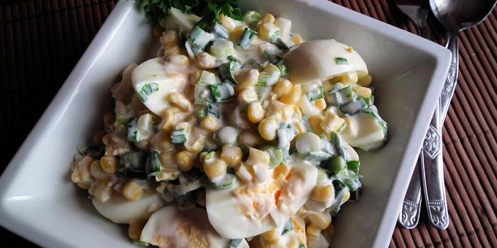Salata sa jajima i kukuruzom (2)