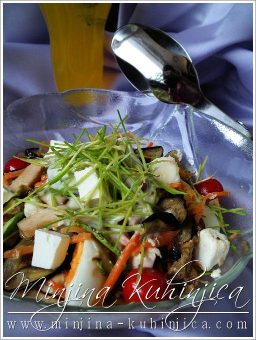 Salata sa psenicnim klicama (1)